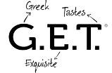 get logo white s